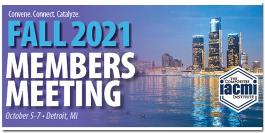 IACMI Members Meeting 2021
